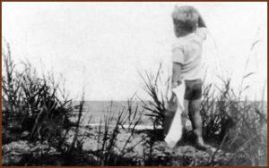 Howard Christensen at the lake